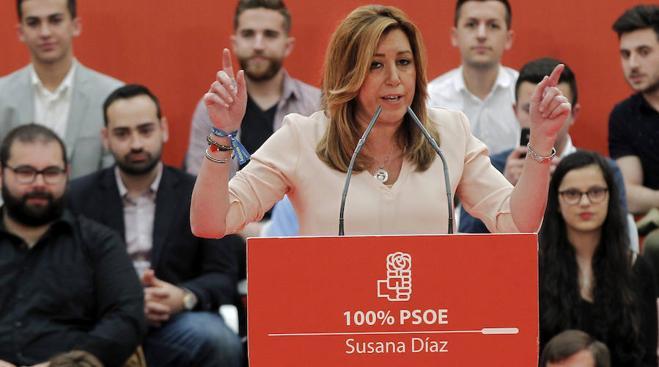 Susana Díaz: El poderío derrotado
