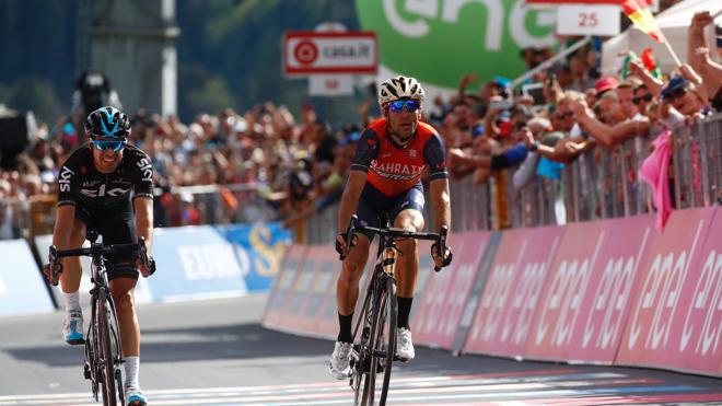 Nibali gana la etapa reina y aprieta el Giro