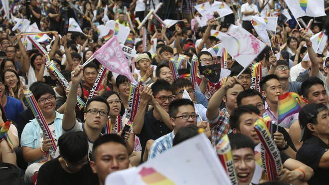 Taiwán, primer país asiático en pronunciarse a favor del matrimonio homosexual