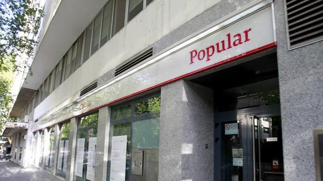 Primera querella colectiva de accionistas por la caída del Popular