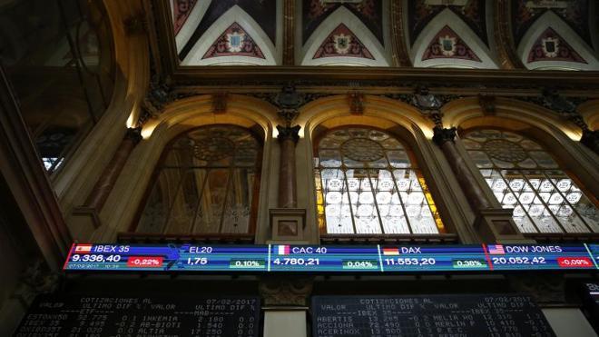 La 'macro' americana enturbia la sesión del Ibex-35