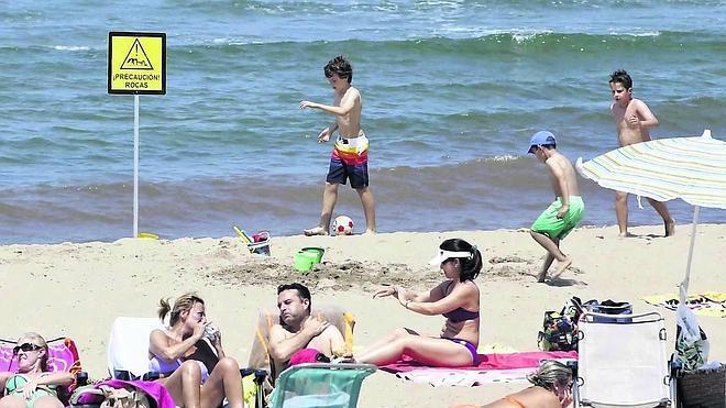 Peligro en la playa de San Juan