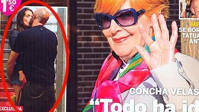El tórrido paseo de Adriana Ugarte y su nuevo novio
