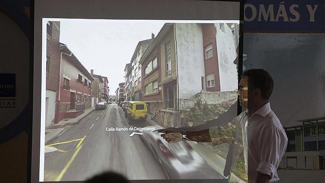Las obras de rehabilitación de la calle Campoamor afectarán a un tramo de sesenta metros