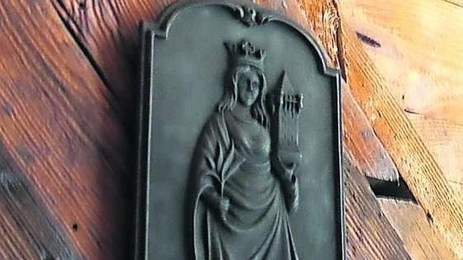 Una Virgen para la mina de Arnao