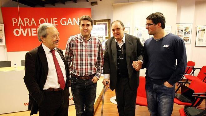 Wenceslao López disputará las primarias del PSOE frente a Antonio Masip