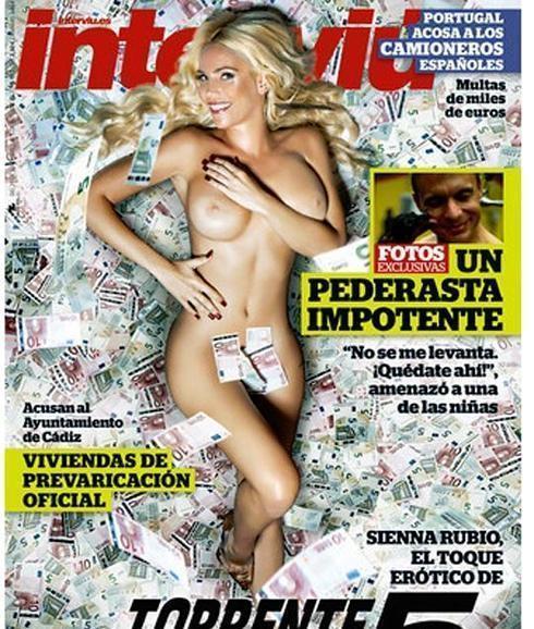 Siena Rubio Un Desnudo En Portada De Interviú Para Calentar El