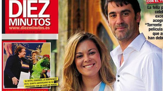"""Jesulín de Ubrique y Mª José Campanario protagonizan la portada de """"Diez Minutos"""" que llega el sábado con EL COMERCIO y LA VOZ DE AVILÉS"""
