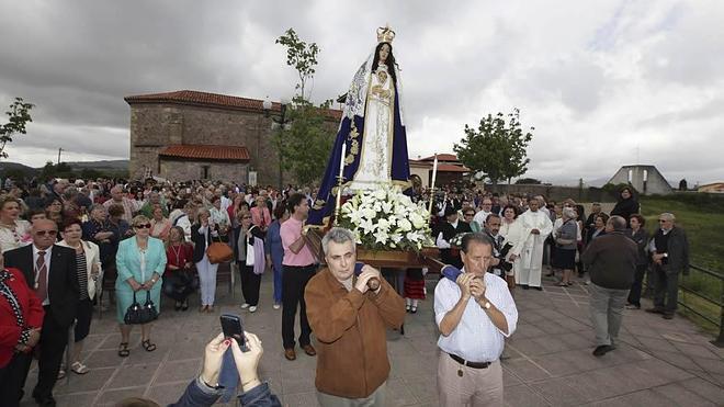 La Virgen de La Luz recorrerá Avilés y quedará expuesta en la iglesia de San Antonio