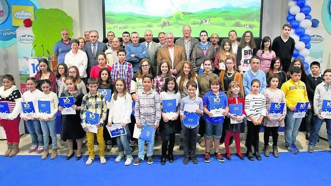 Entrega de los premios de Central Lechera Asturiana