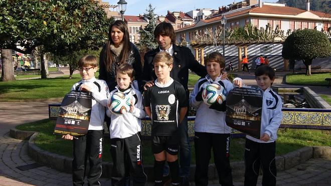 350 niños participan en Villaviciosa en el Torneo de Navidad de fútbol