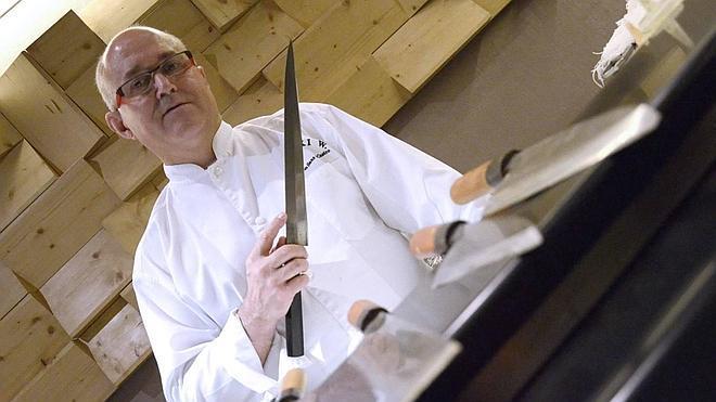 «Lo más parecido a mis cuchillos de 1.500 euros son los de Taramundi»