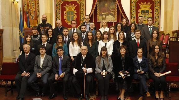 La Universidad De Oviedo Ha Celebrado Entrega Los Premios Extraordinarios Doctorado