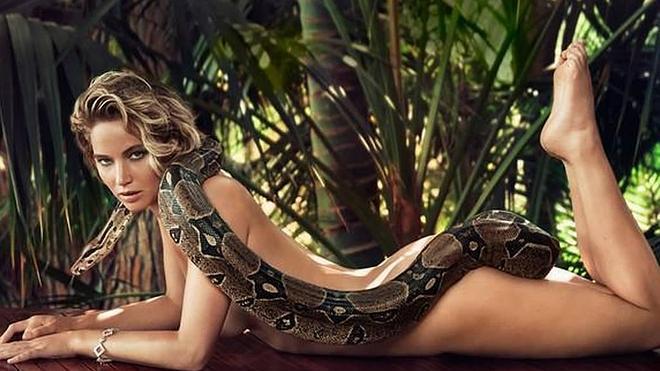 La Jennifer Lawrence más natural y salvaje