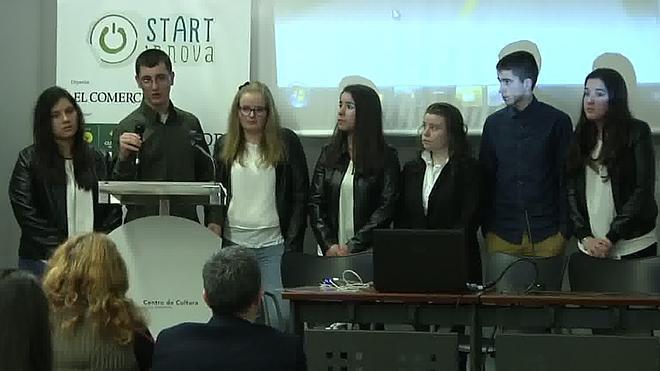 El colegio Carlos Bousoño de Boal y el CIFP de Langreo, ganadores de STARTinnova