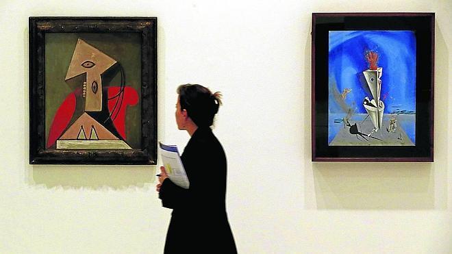 Picasso y Dalí, dos genios cara a cara