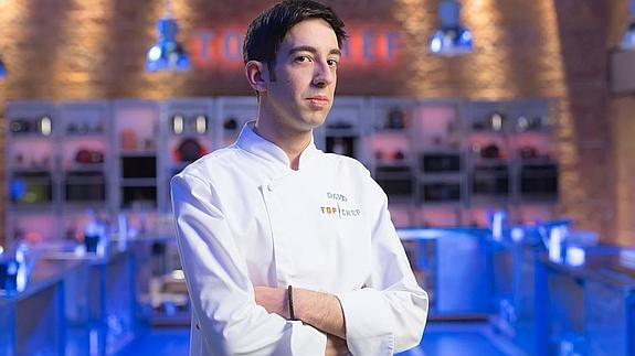 David García, cocinero ganador de Top Chef./
