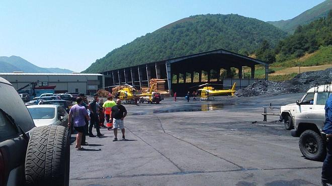 Extraen toneladas de carbón para rescatar al trabajador de Cerredo