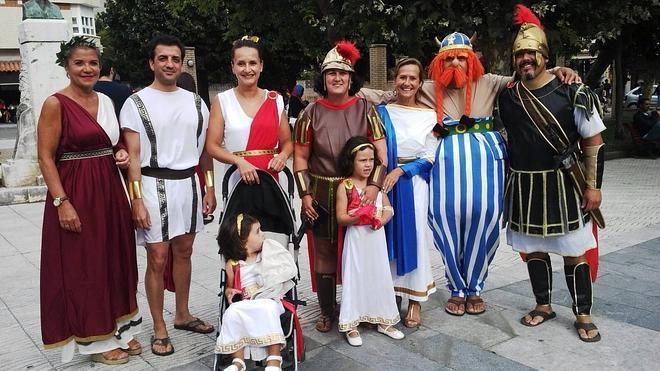 Los dioses del Olimpo se divierten en Luanco