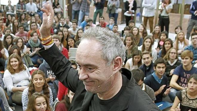 Ferran Adrià y la creatividad en una conferencia en Gijón