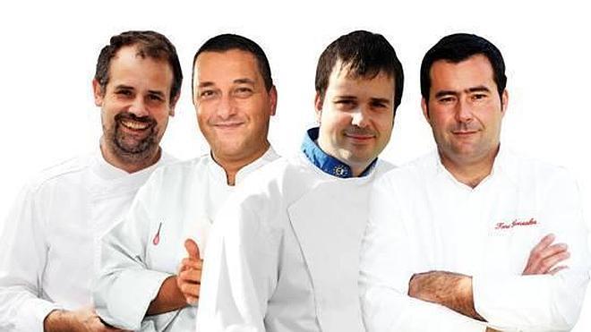 Curso de cocina navideña con cuatro grandes chefs