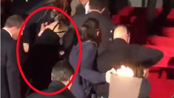 Jennifer Lawrence vuelve a 'comerse' una alfombra roja