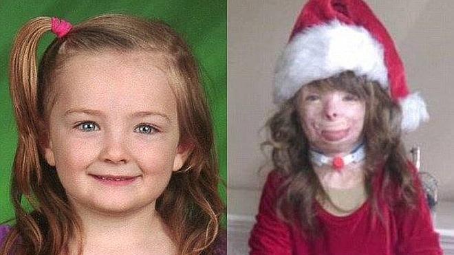 Una niña de 5 años que perdió a su familia en un incendio ve cumplido su deseo
