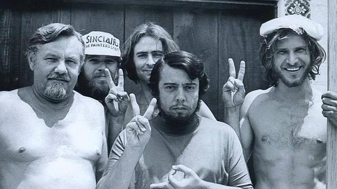 La imagen de Harrison Ford cuando era carpintero