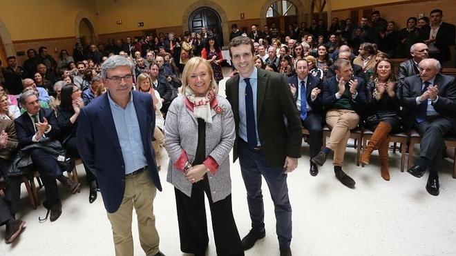Mercedes Fernández: «Los populares tienen un partido bien organizado»