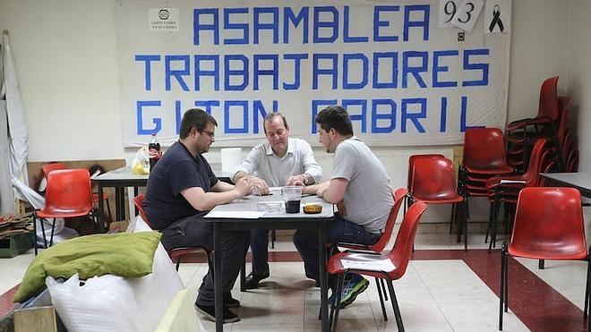 La plantilla de Gijón Fabril recibirá hoy las cartas de despido