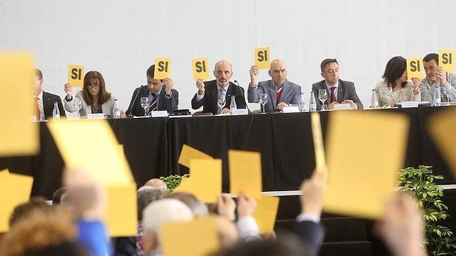 El Grupo rechaza las cuentas de 2015 y el presupuesto de la anterior directiva