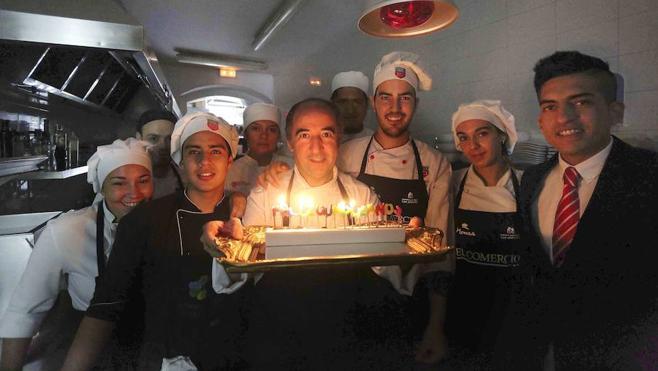 «La cocina asturiana es un continuo recuerdo»