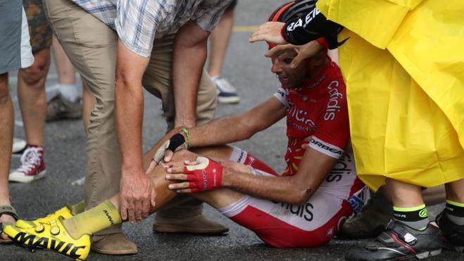 El gijonés Dani Navarro abandona el Tour de Francia