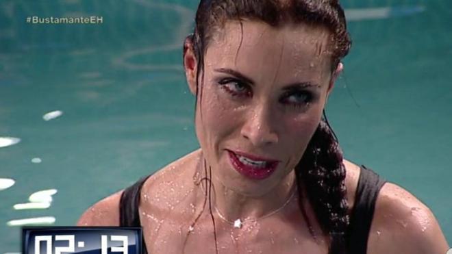El susto de Pilar Rubio en 'El Hormiguero'