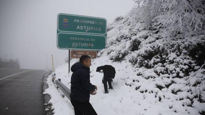 Asturias, bajo la ola de frío