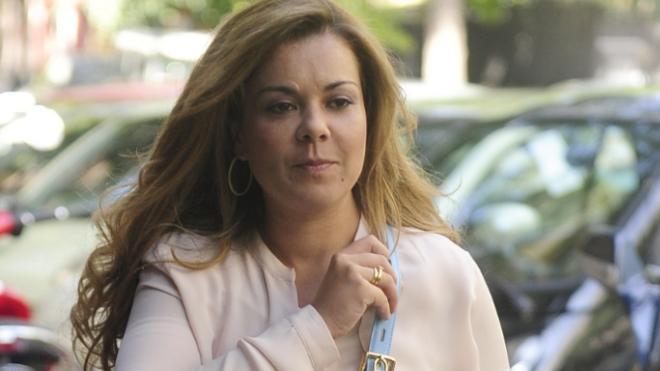 María José Campanario, ingresada de urgencia