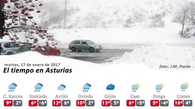 c7987ac2c2 Sal y quitanieves para combatir la ola de frío siberiano que llega a  Asturias