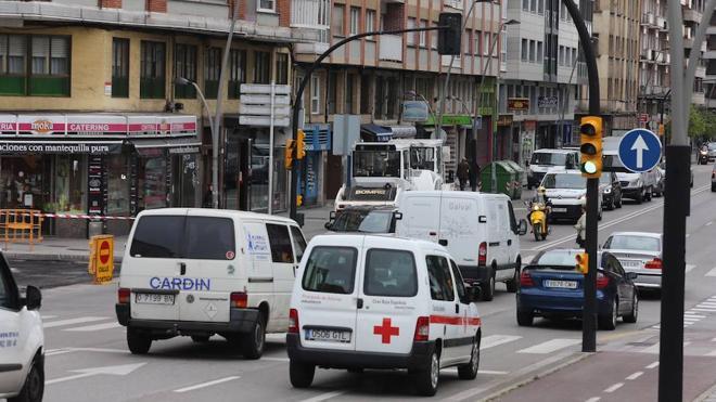 Mañana se cortará el tramo de la avenida de la Costa de Gijón entre Los Campos y Santa Doradía