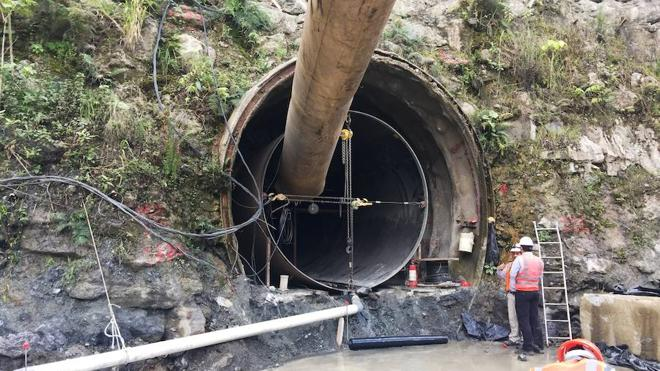 La Universidad realiza el perfil geológico de tres túneles en Macedonia, Guatemala y Georgia