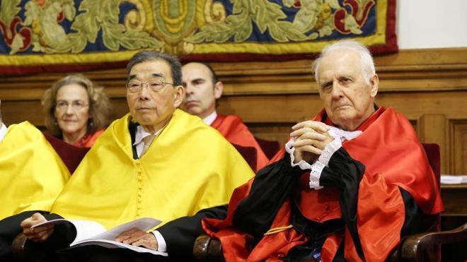 Dos Honoris Causa con fuerte vinculación con Asturias