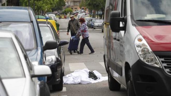La mujer que murió atropellada en Gijón cruzaba por el paso de cebra